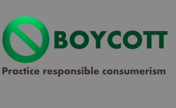 Boycott Businesses avoiding Tax