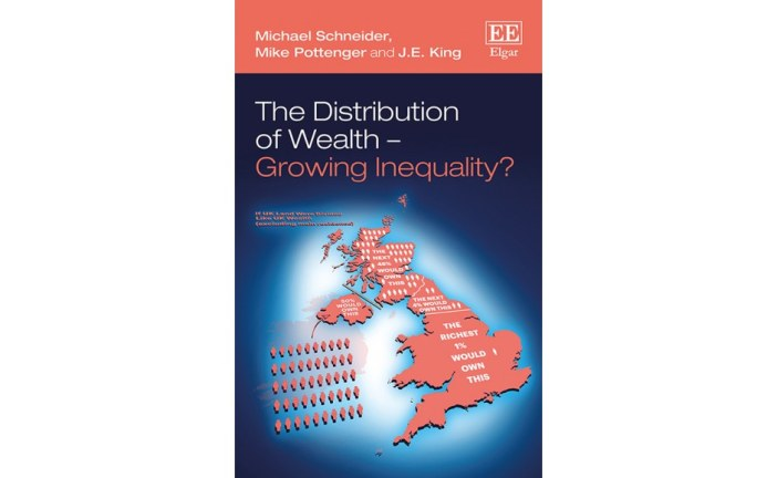 The Distribution of Wealth – Growing Inequality? Michael Schneider, Mike Pottenger, J. E. King